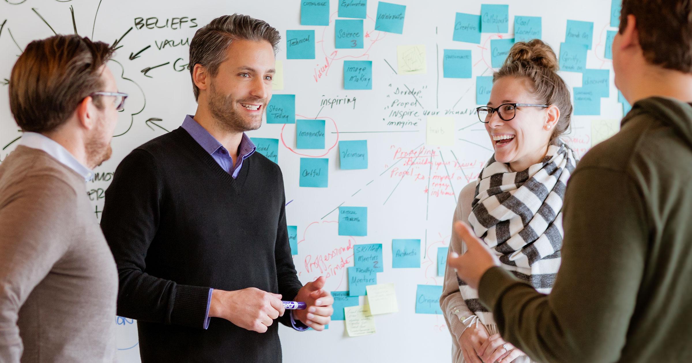 Talking Human-Centered Design